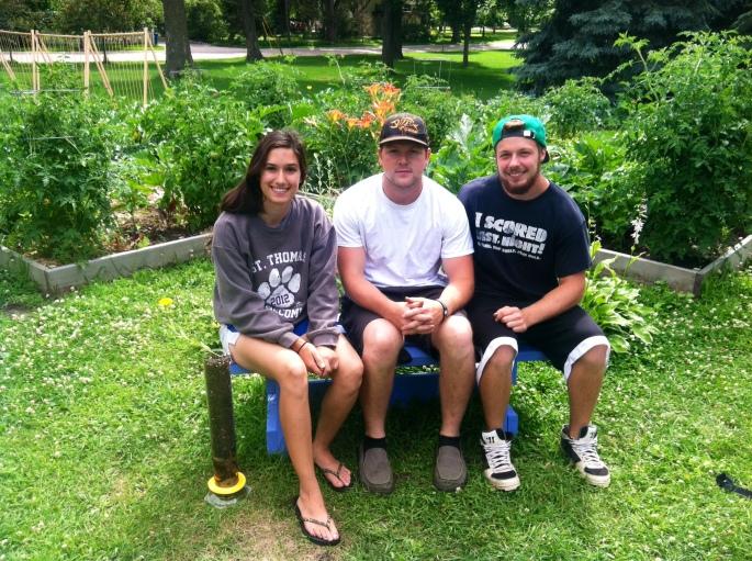 Growing Science leaders: Kristen Bastug, Sam Harvey, and Jake Anderson